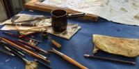 Disegnare e realizzare un arazzo con la tecnica Batik