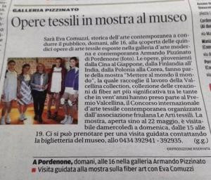 Il Messaggero Veneto Giorno e Notte 12 maggio 2016