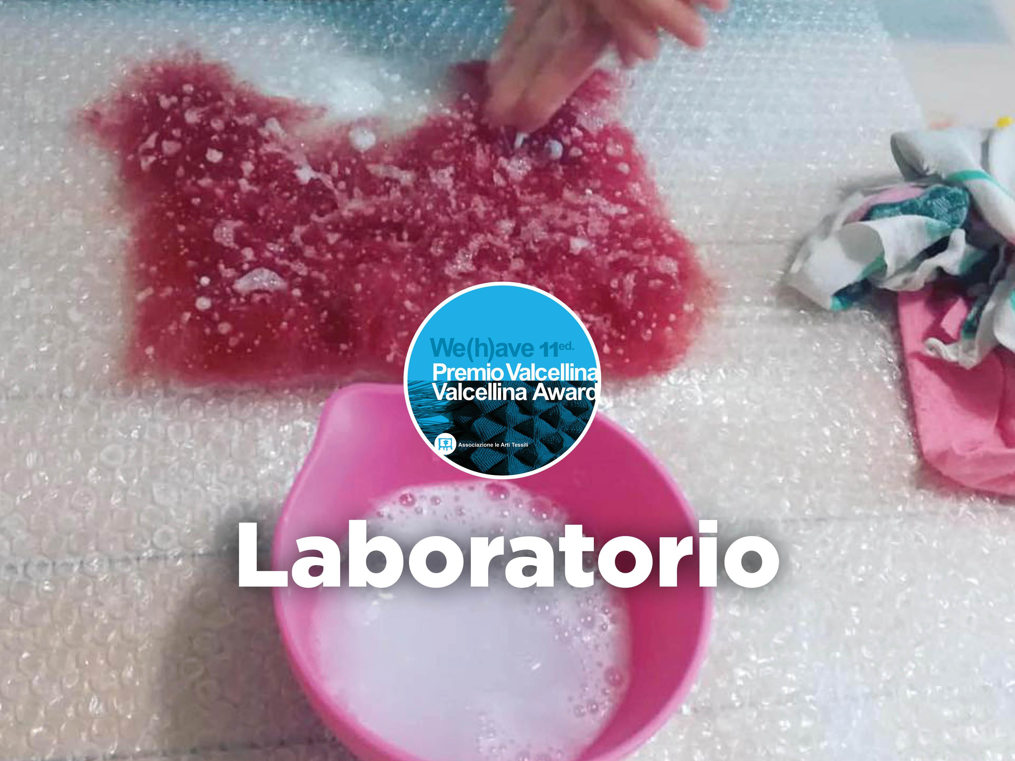 Laboratorio ZONE UMIDE / IL FELTRO AD ACQUA con Barbara Girardi presso ARTPORT Palazzolo dello Stella UD 22 GIUGNO