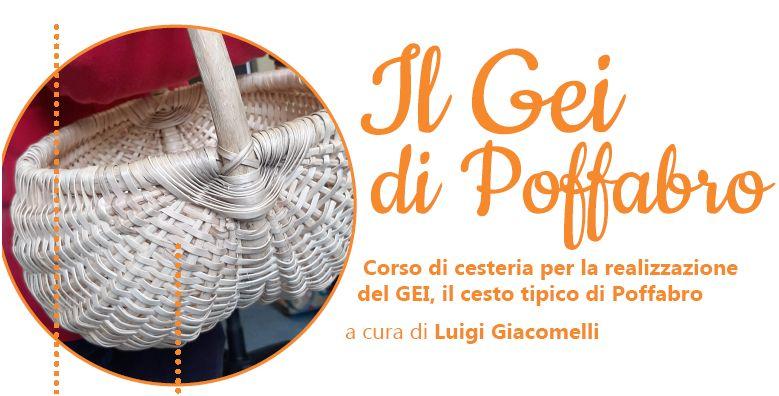 CESTERIA con il maestro Luigi Giacomelli a POFFABRO PN, da sabato 5 OTTOBRE