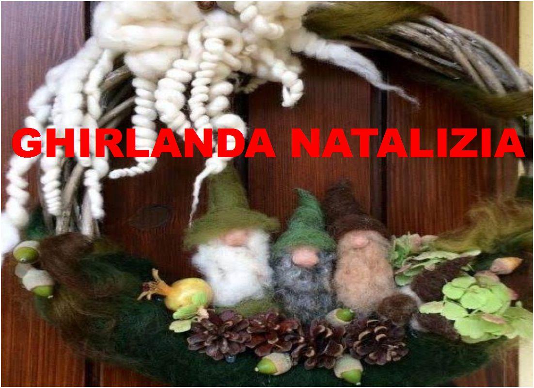 Workshop GHIRLANDA NATALIZIA CON DECORAZIONI IN LANA con Gianna Marian - Domenica 1 dicembre a Maniago